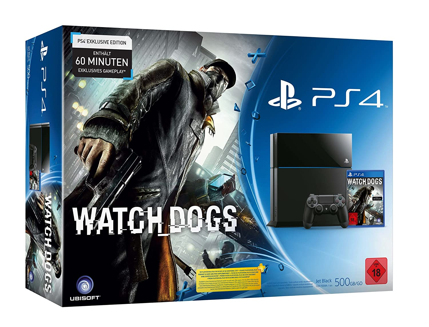 PlayStation 4 Watch Dogs Konsolen Bundle