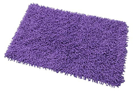 debonsol tapis de bain bain coton violet. Black Bedroom Furniture Sets. Home Design Ideas