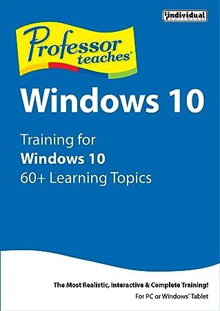 Professor Teaches Windows 10 [Download]