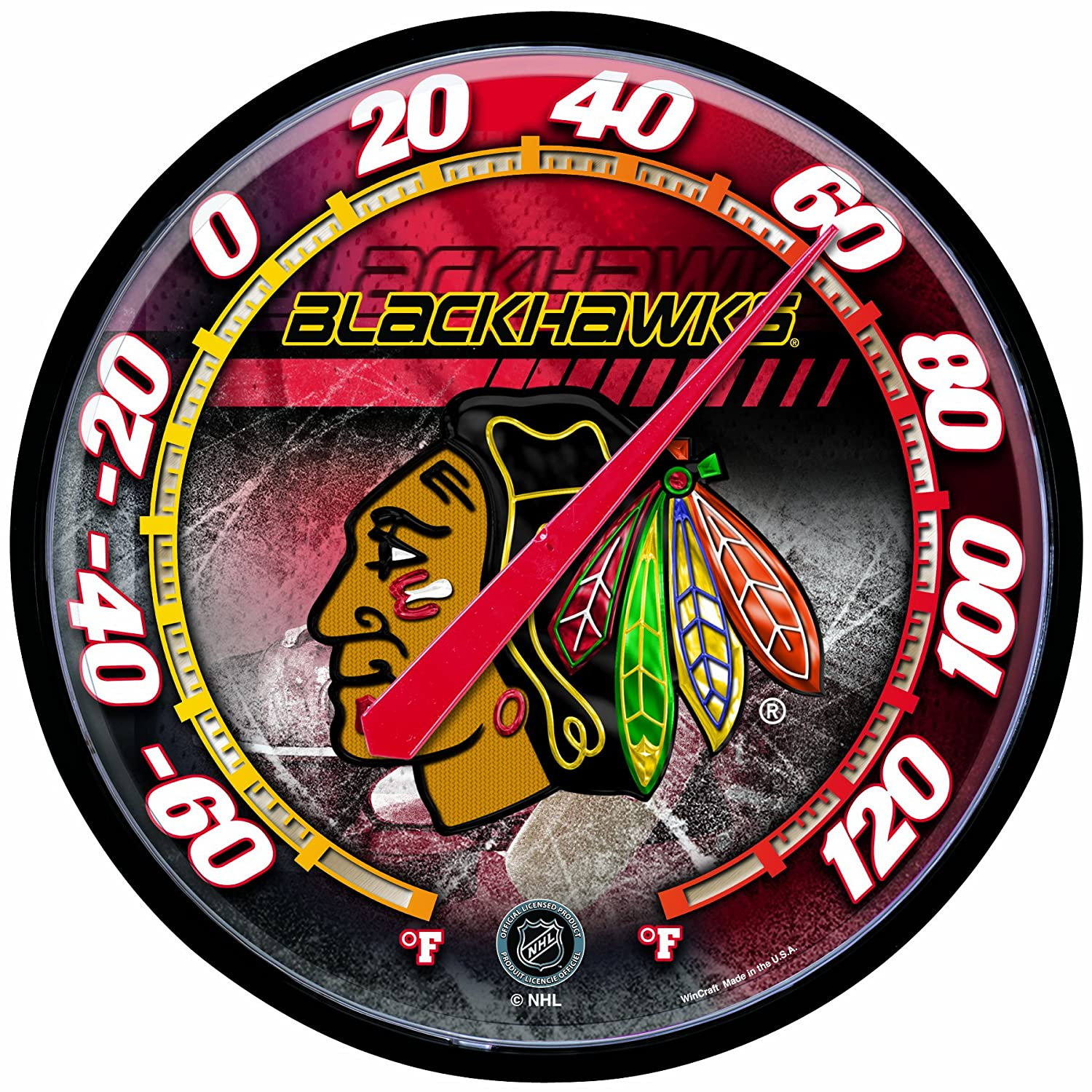 nhl-chicago-blackhawks-thermometer