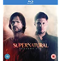 Supernatural Season 1-10 on Blu-ray