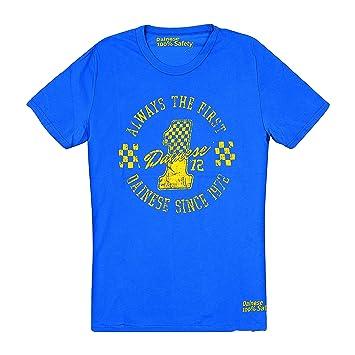 Dainese 1896393_L33_XL The First T-Shirt, Princesse Bleu, Taille : 42