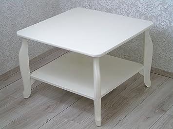 Mesa de centro de madera Marfil o nogal clásico contemporáneo