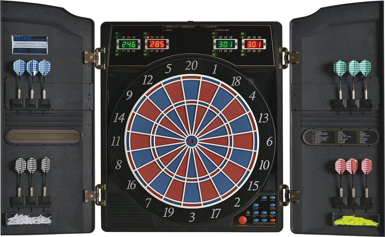 Elektronische Dartscheibe Dartona CB40 Cabinett – Turnierscheibe mit 27 Spielen und über 150 Varianten online bestellen