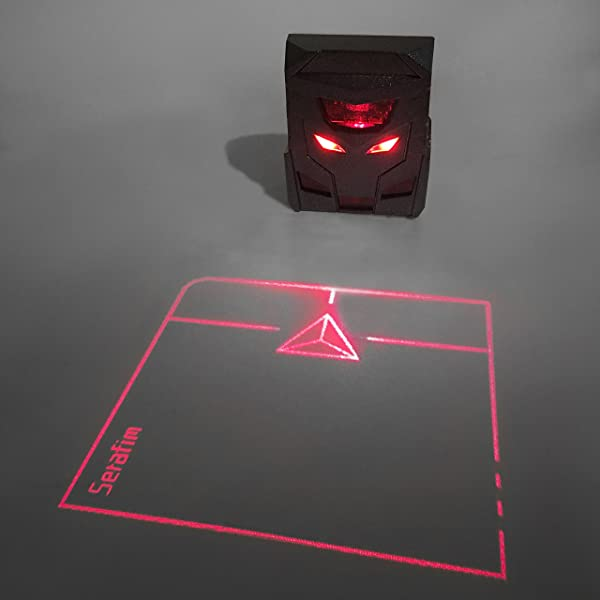 ODiN - Virtual Laser Holographic Mouse - World's First Projection Trackpad: The Ideal Complementary Accessory for Virtual Keyboards (Black) (Color: Black)