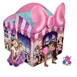 Playhut Minnie Mouse Cottage with Tea Set, Pink