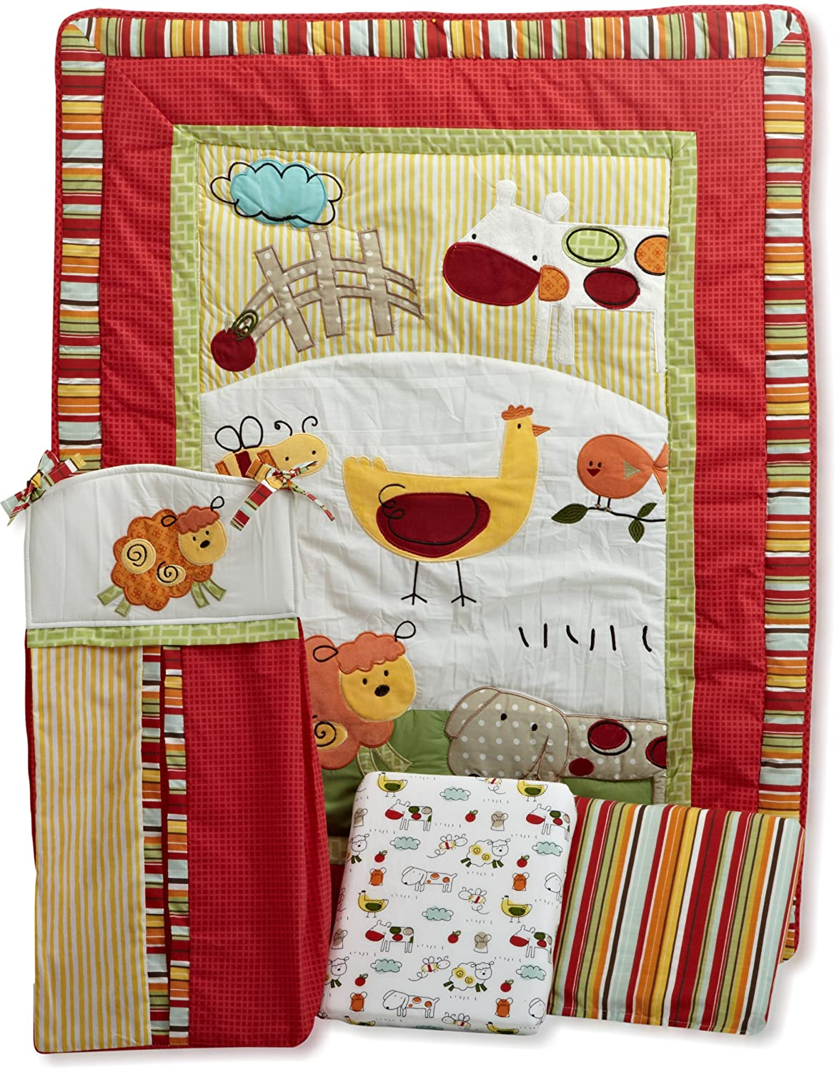 CoCo and Company Baby Farm Crib Bedding and Accessories