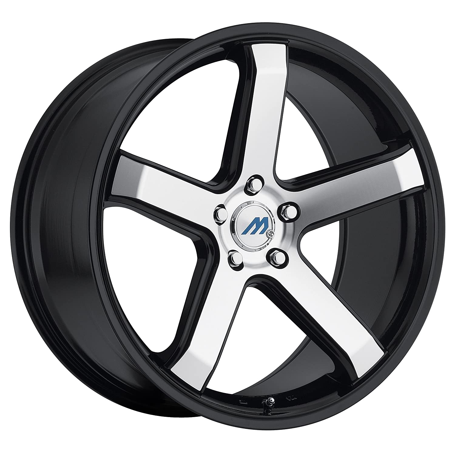 цена на Mach by 2Crave  ME5 Gloss Black Wheel with Machined Face// (16x7