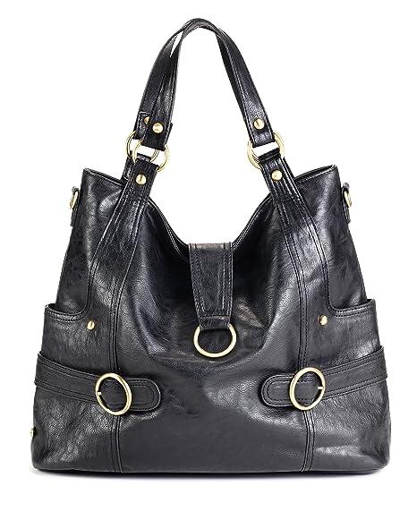 timi & leslie Hannah 7-Piece Diaper Bag Set, Black (Discontinued by Manufacturer)