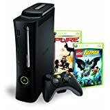 Xbox 360 Elite 120gb Bundle w/ Lego Batman & Pure