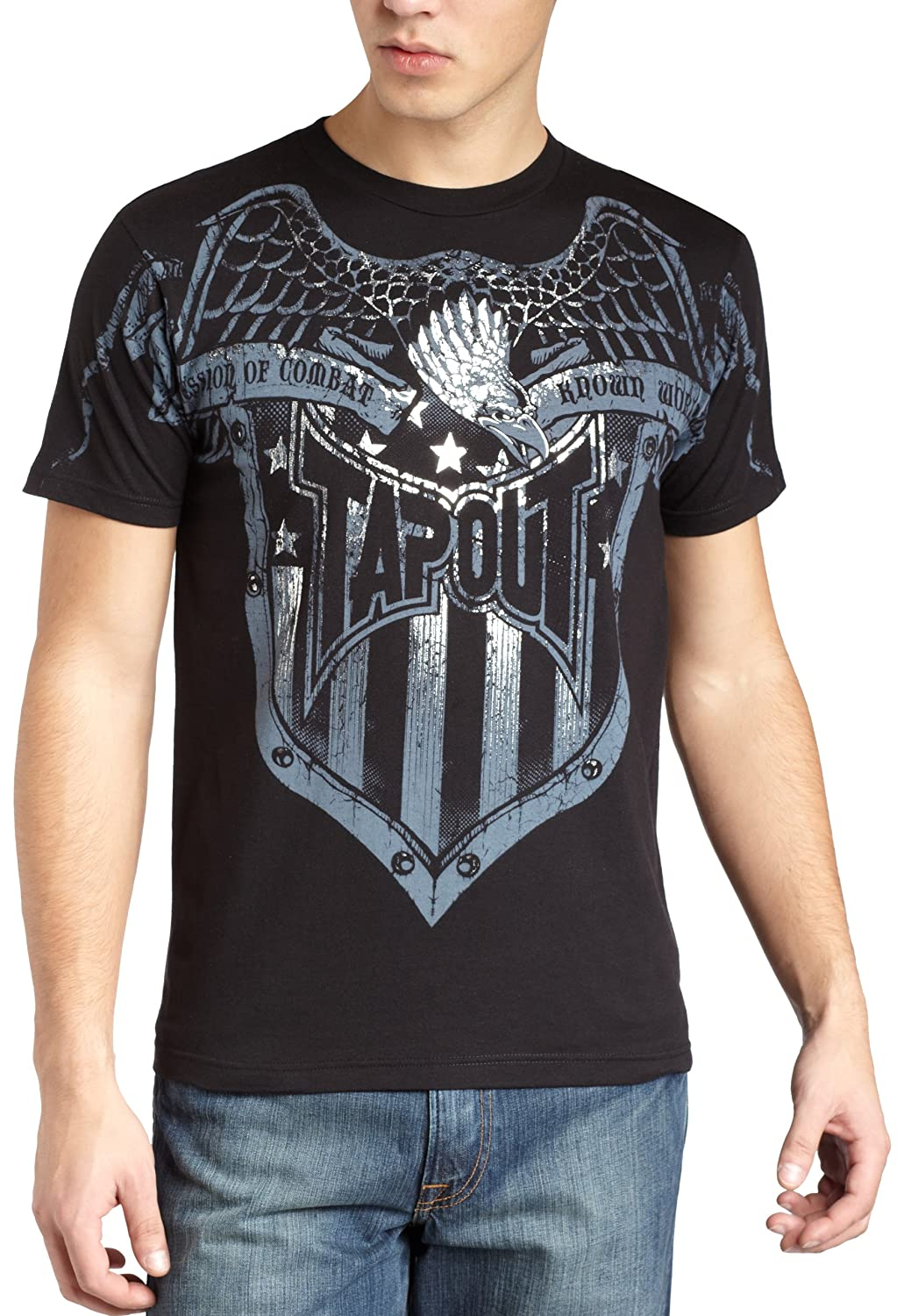 Tapout clothing has fitness at the core which is mirrored in the combat construction and design. Related categories. Refine Refine & Sort Sort Rank. Recent. Discount (High To Low) Discount % (High To Low) Price (Low To High) Price (High To Low) Brand (A To Z) Brand (Z To A) Gender. Click to close.