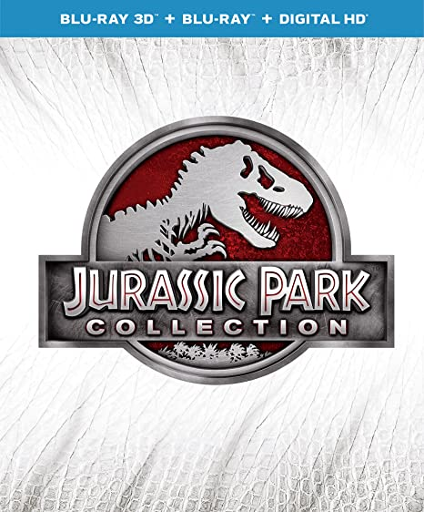 Jurassic Park Collection - All 4 Movies, Including Jurassic World (Blu-ray 3D + Blu-ray + Digital HD)