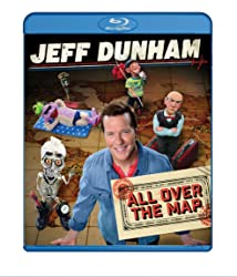 JEFF DUNHAM: ALL OVER THE MAP on Blu-ray and DVD