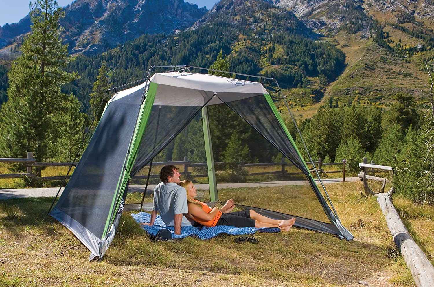 Coleman 12 10 Shelter With Screen Walls Manual : Nice portable screen house airstream forums