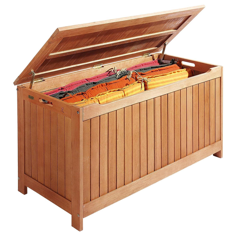 """Auflagenbox """"Kissenbox"""" Holz Braun günstig bestellen"""