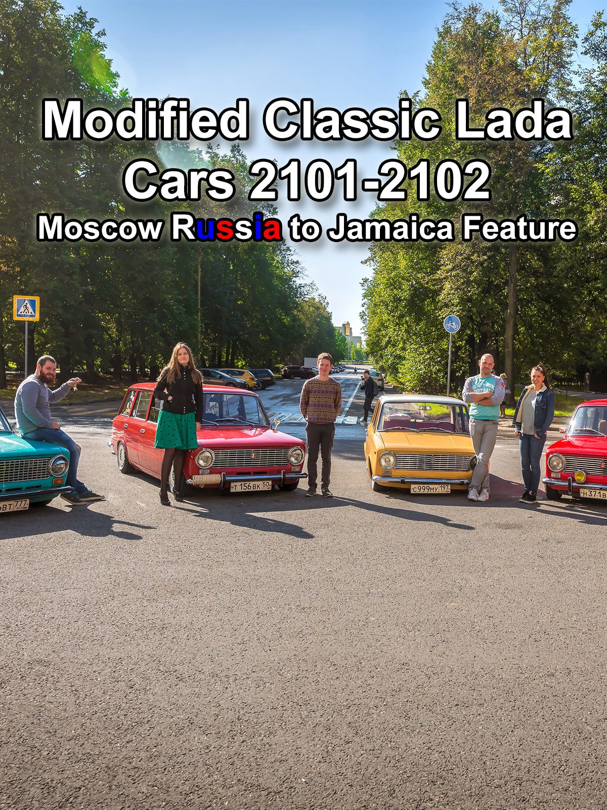 Modified Classic Lada Cars 2101-2102