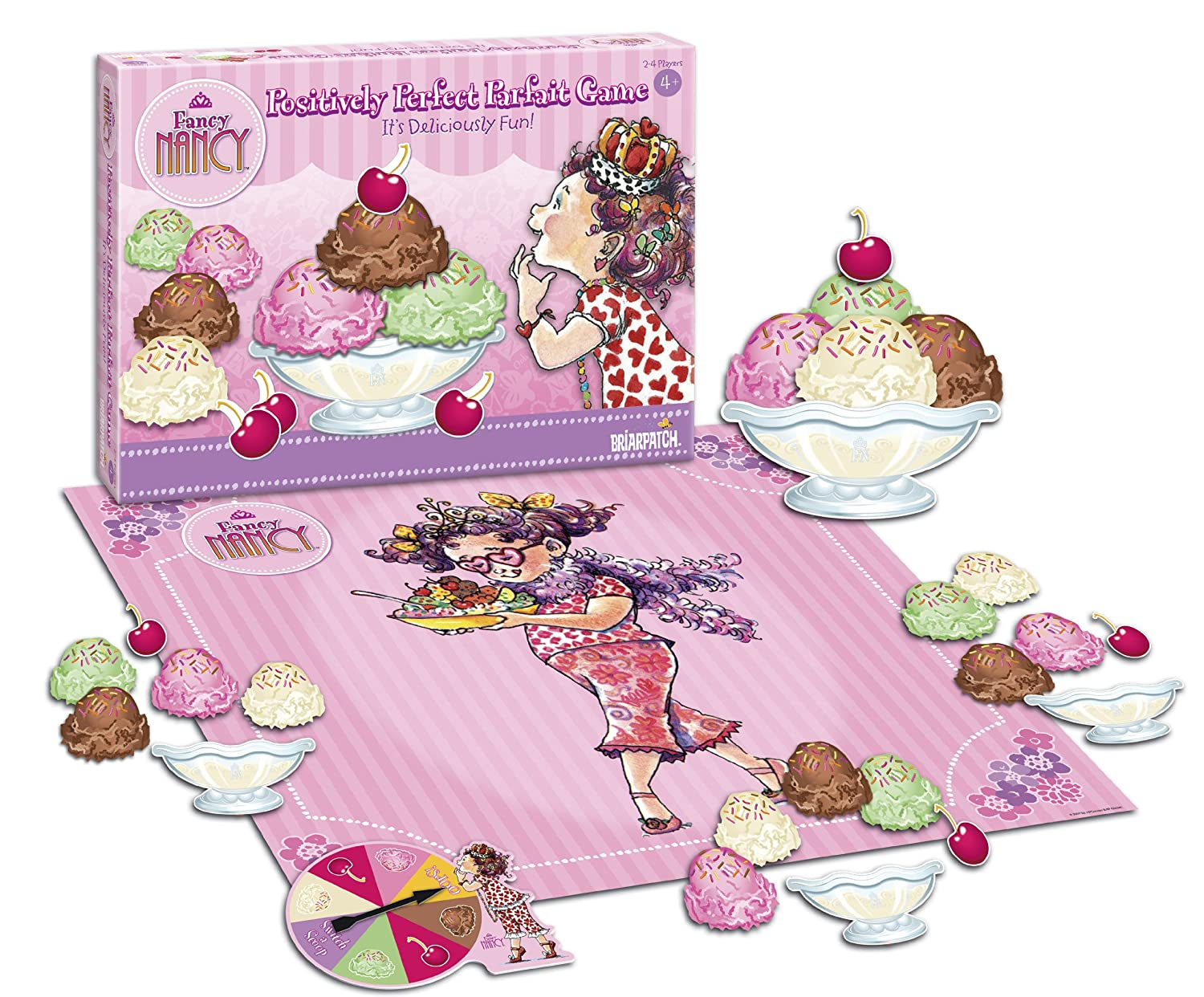 Fancy Nancy Positively Perfect Parfait Game for preschoolers