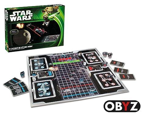 Abysmile - SMIJDP011 - Jeu de Plateau - Star Wars - A l'assaut de  l'étoile - Noir