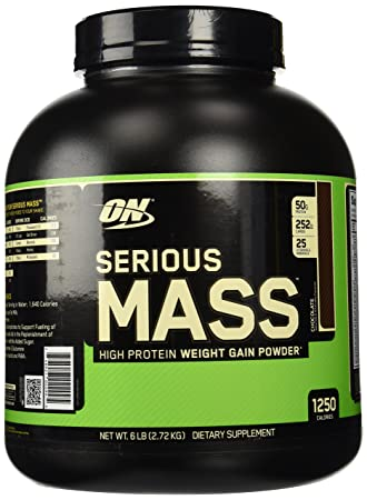 Optimum Nutrition Serious Mass 2,7kg Schoko