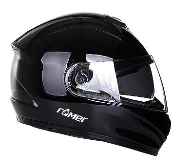 Römer Helmets 200504 Casque de Moto, Noir Brillant, Taille L