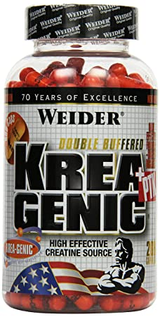 Weider Krea-Genic + PTK- 208 Kapseln, 1er Pack (1 x 270g)