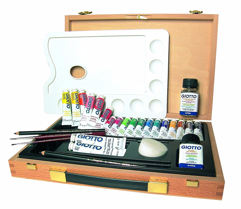 Maletín de pinturas para pintor aficionado