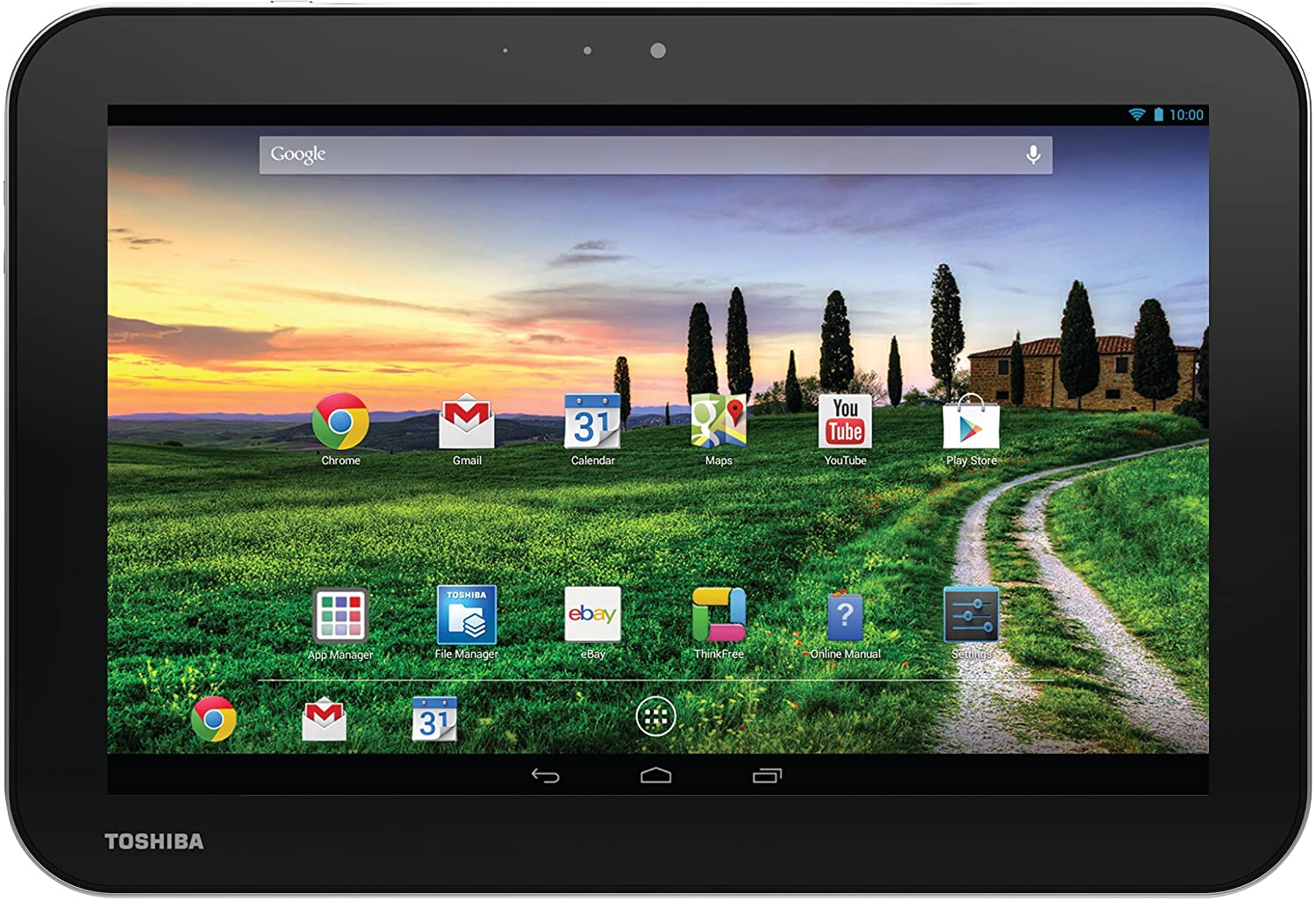 Amazon Toshiba Android Tablet
