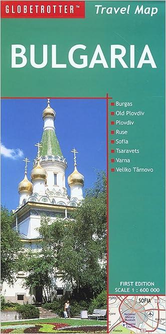 Bulgaria Travel Map (Globetrotter Travel Map)
