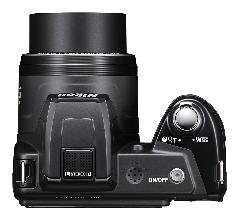 Máy ảnh Nikon L110 26194 Coolpix Digital Camera. e24h. vn