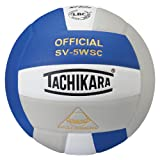 Tachikara Sensi-Tec Composite High Performance Volleyball (Royal/White/Silver Gray)
