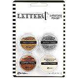 Ranger Tinsels Letter It Embossing Powder Set