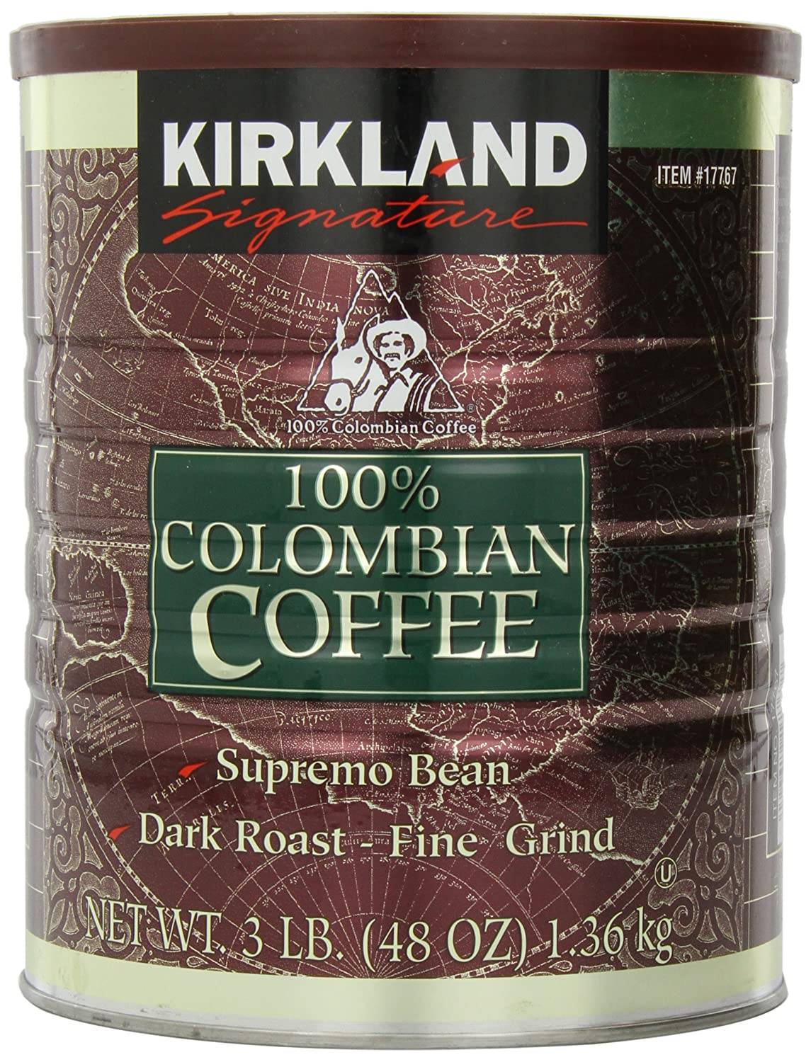 Signature 100% Colombian Coffee Supremo Bean