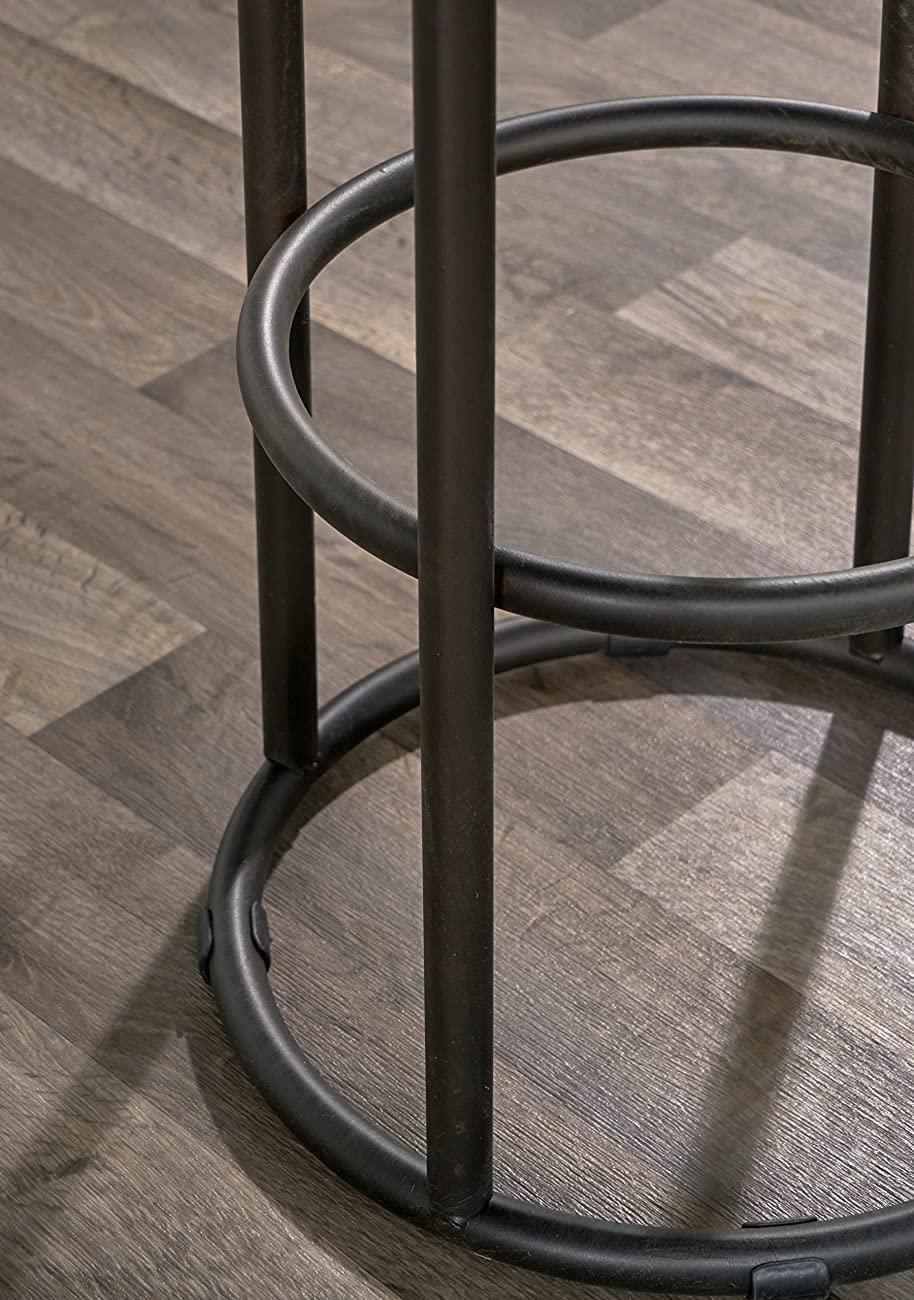 Derrick Bar Stool in Natural Wood 2