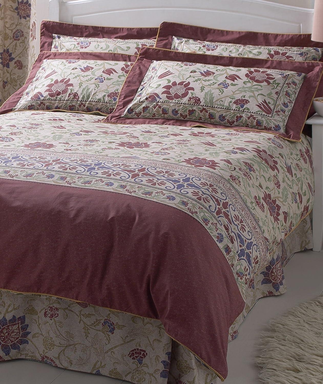 Lyckoax Duvet Cover And Pillowcase S White Lilac: Classic Vantona Galiana Floral Bedding Duvet Cover