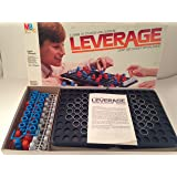 LEVERAGE: A Game of Strategy and Suspense by Milton Bradley