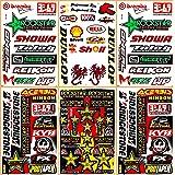 Supercross Motocross Motorcycles Dirt Bike MotoGP ATV Helmet Jet ski Lot 6 Vinyl Graphic Stickers Decals D6223 Best4Buy