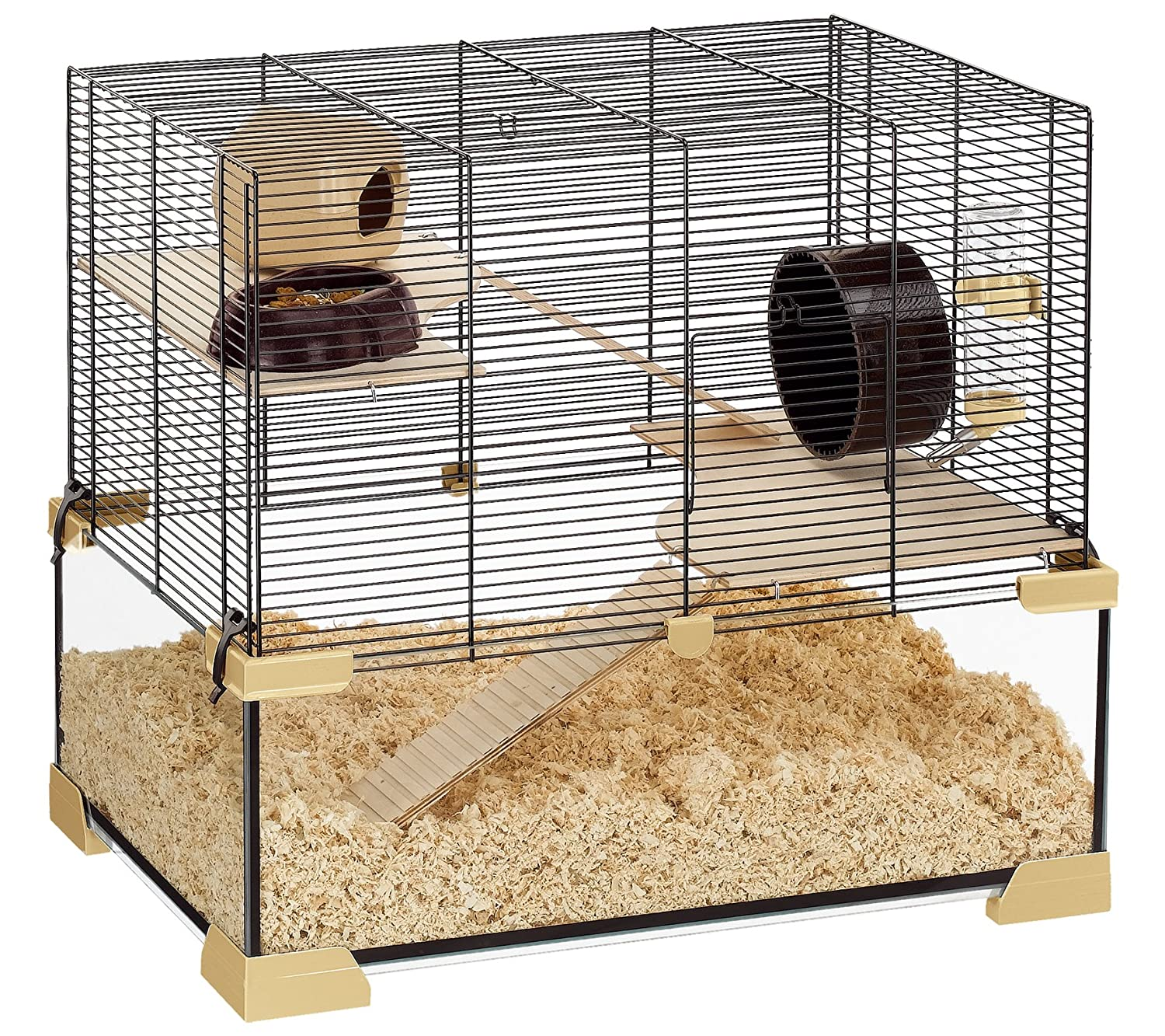 Ferplast Karat 60 glass hamster cage