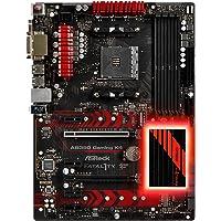 ASRock Fatal1ty AB350 Gaming K4 AM4 AMD Promontory B350 Motherboard + AMD RYZEN 5 6-Core Desktop Processor