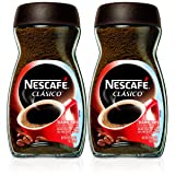 Nescafe Clasico Instant Coffee,7 Ounce (Pack of 2) (Tamaño: 14 Ounce)