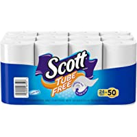 Scott Tube Free Toilet Paper