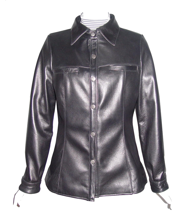 Nettailor WoHerren 4081 Lammskin Leder Shirt Schnapp Front jetzt bestellen