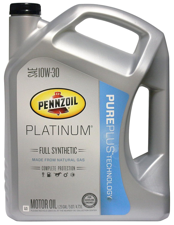 Pennzoil Platinum APIGF-5 Certified SAE 10W-30 Full Synthetic Motor Oil