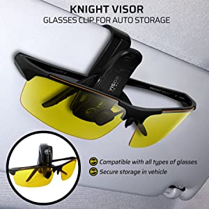 a520660817e BLUPOND Night Driving Glasses - Anti-glare HD Vision - Yellow Tint  Polycarbonate Lens - Safety Sunglasses for Men ...