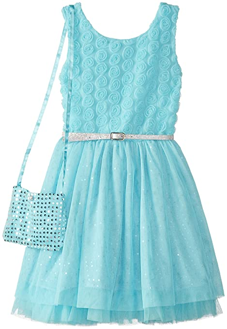 Beautees-Big-Girls-Dress-with-Sequin-Purse