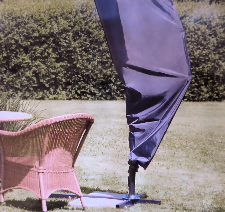 Schutzhülle für Ampelschirm Gartenmöbel Sonnenschirm Plane Schutzhaube bis 400 cm Schirme aus Oxford 420D Gewebe online bestellen