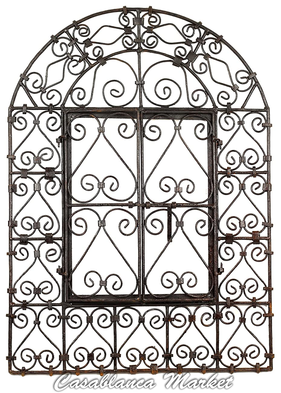 The Wrought Iron Window with Doors 0