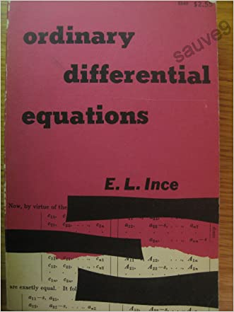 Ordinary Differential Equations With Diagrams,