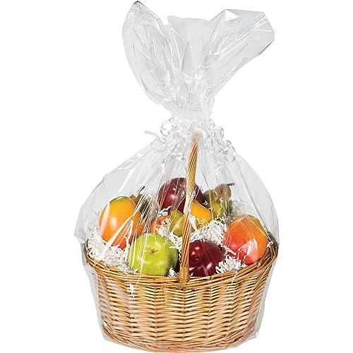 Cellophane Basket Bag