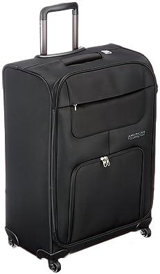 【クリックで詳細表示】[アメリカンツーリスター] AmericanTourister 【スーツケース・キャリーバッグ】MV+ソフト 68cm/83L/3.3Kg(アメリカンツーリスター) 20T*09002 09 (ブラック): シューズ&バッグ:通販