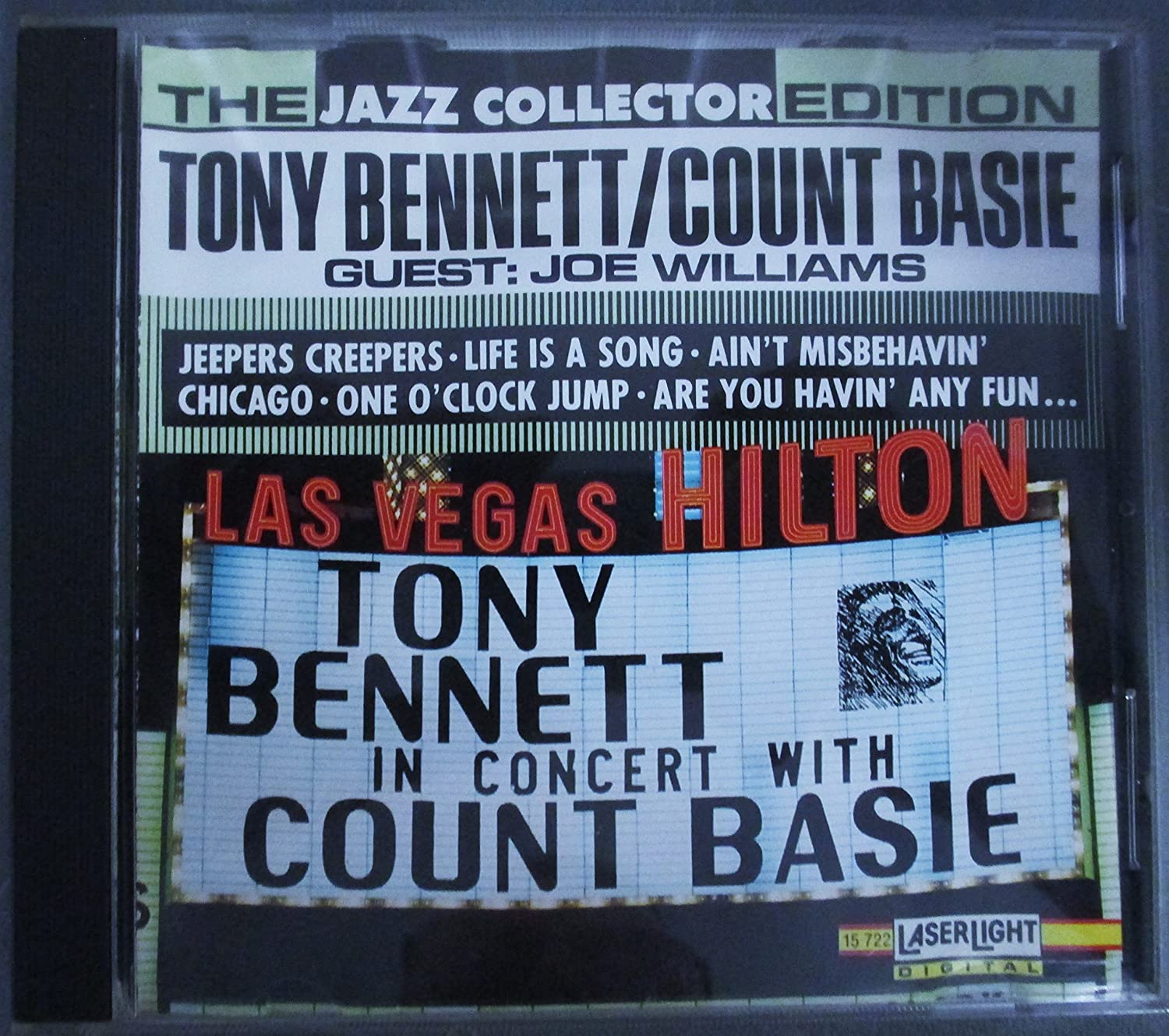 Tony Bennett In Concert With Count Basie